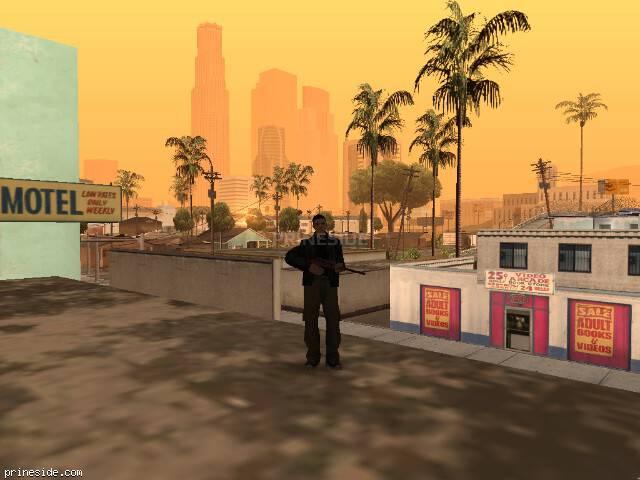 Просмотр погоды GTA San Andreas с ID 72 в 7 часов