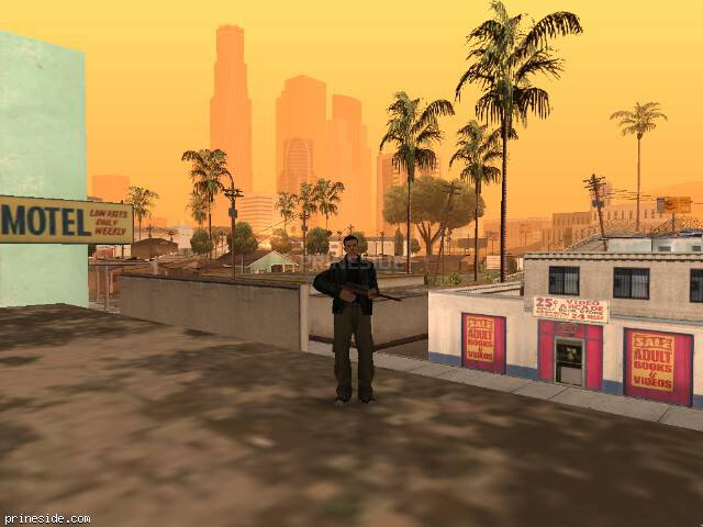 GTA San Andreas weather ID 72 at 8 hours