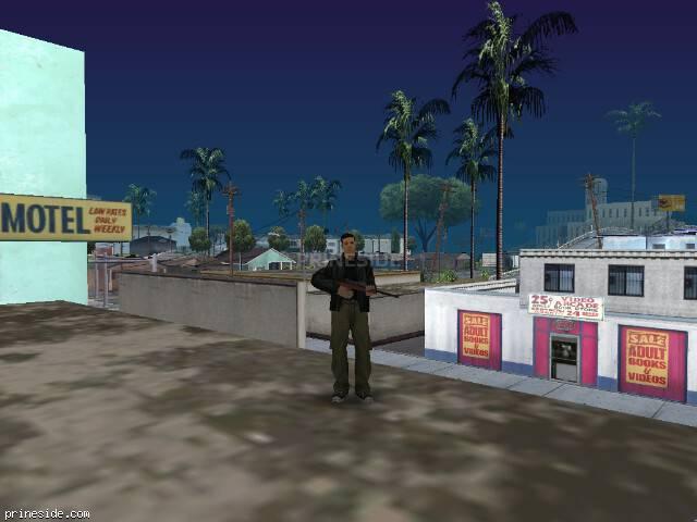 Просмотр погоды GTA San Andreas с ID 74 в 12 часов