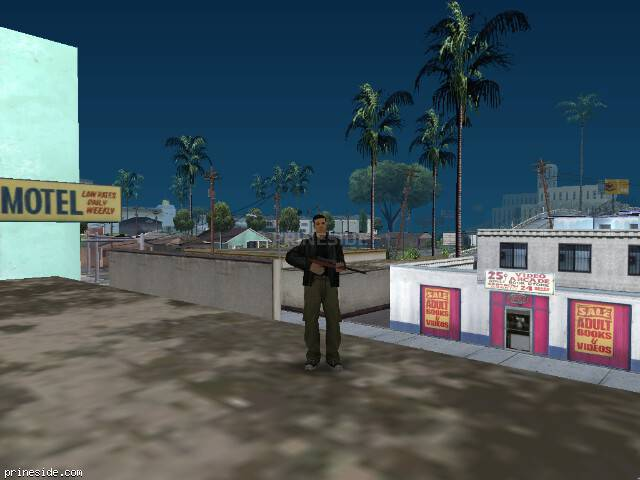 GTA San Andreas weather ID 75 at 12 hours