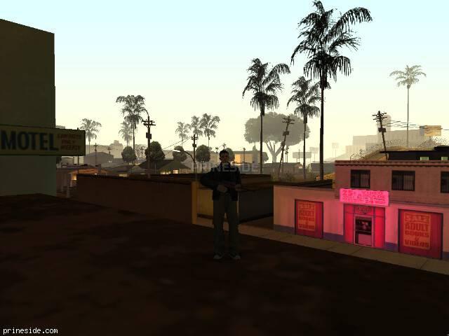 Просмотр погоды GTA San Andreas с ID 75 в 2 часов