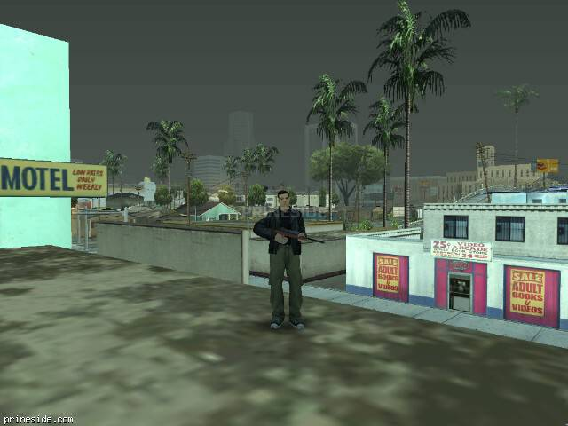 GTA San Andreas weather ID 77 at 11 hours