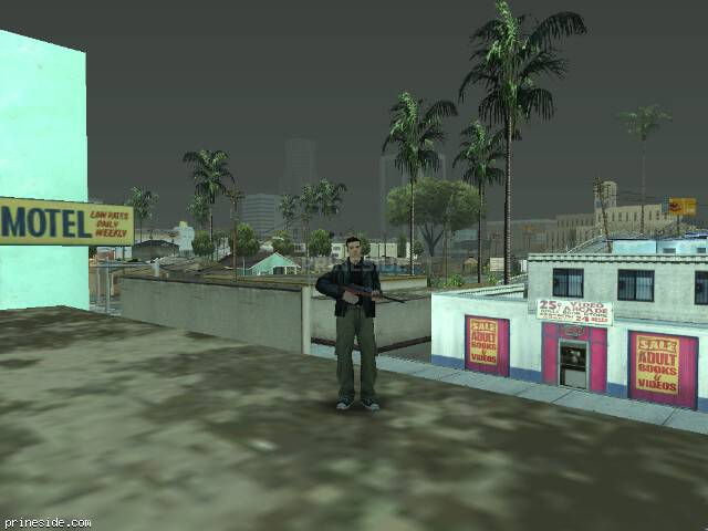 GTA San Andreas weather ID 77 at 12 hours