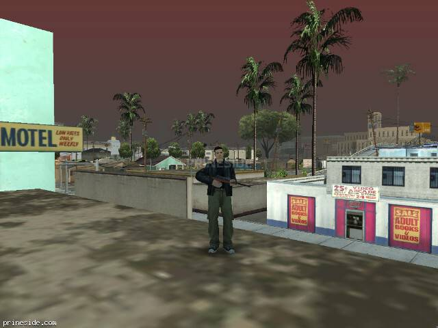 GTA San Andreas weather ID 77 at 13 hours