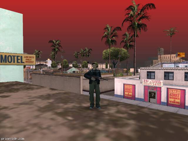 GTA San Andreas weather ID 77 at 15 hours