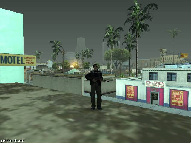 GTA San Andreas weather ID -691 at 7 hours