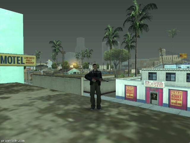 GTA San Andreas weather ID -435 at 8 hours