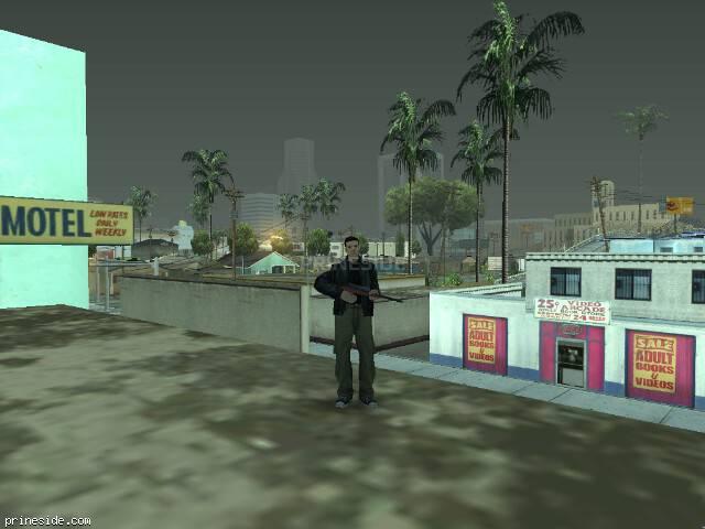 Просмотр погоды GTA San Andreas с ID 77 в 9 часов