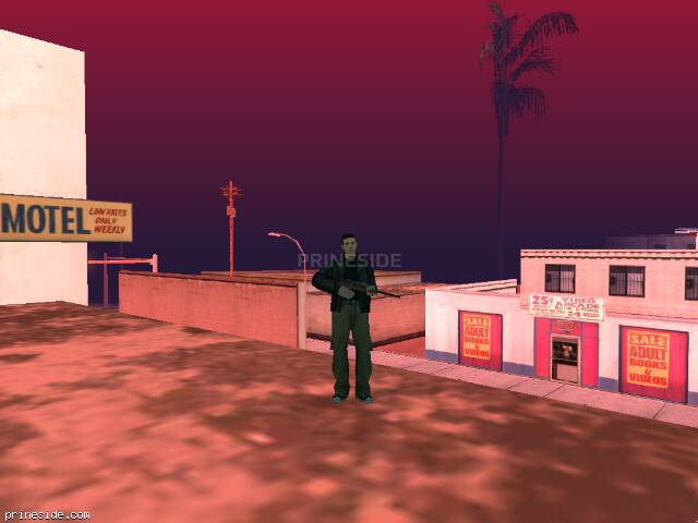 GTA San Andreas weather ID 78 at 16 hours