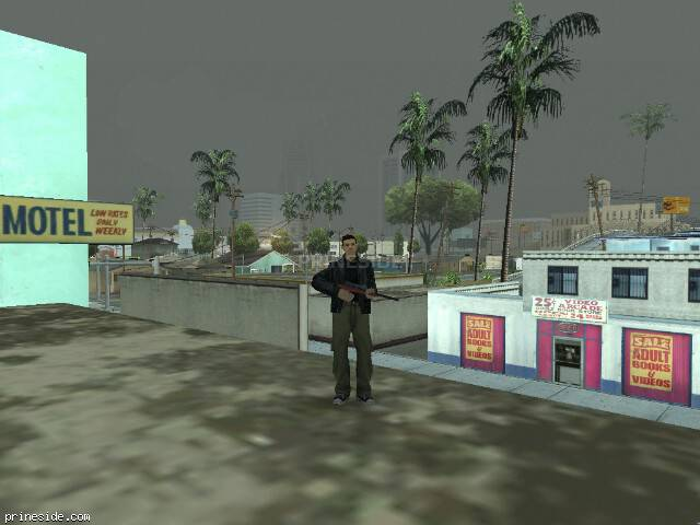 GTA San Andreas weather ID 8 at 10 hours