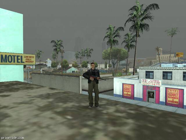 GTA San Andreas weather ID 8 at 11 hours