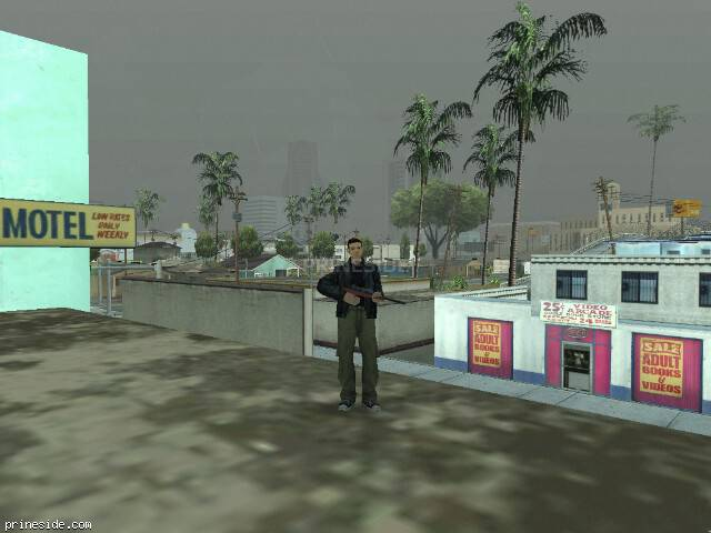 GTA San Andreas weather ID 520 at 16 hours