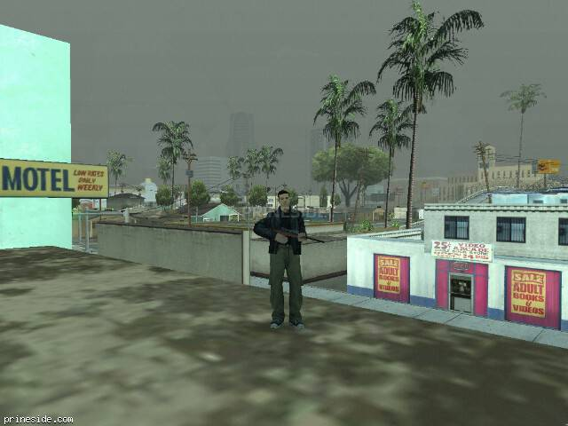 GTA San Andreas weather ID 8 at 19 hours
