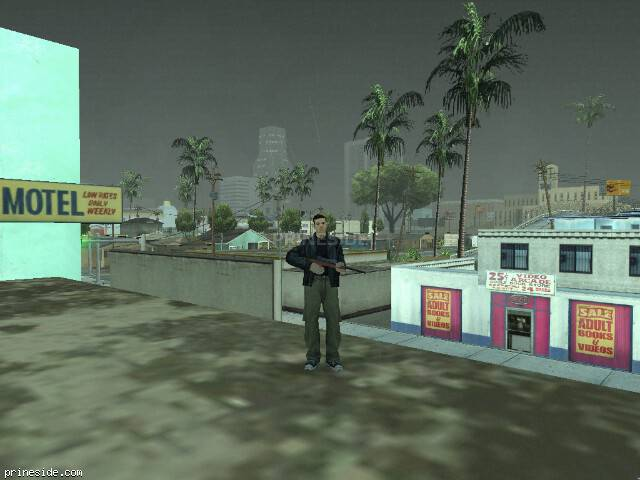 GTA San Andreas weather ID 8 at 20 hours