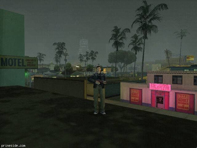 GTA San Andreas weather ID 8 at 21 hours