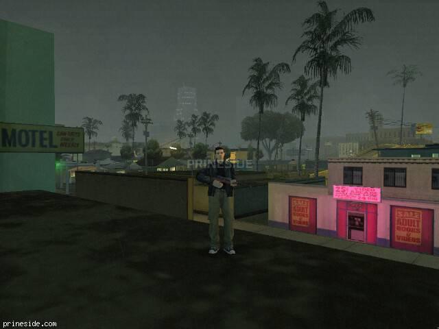 Просмотр погоды GTA San Andreas с ID 8 в 21 часов