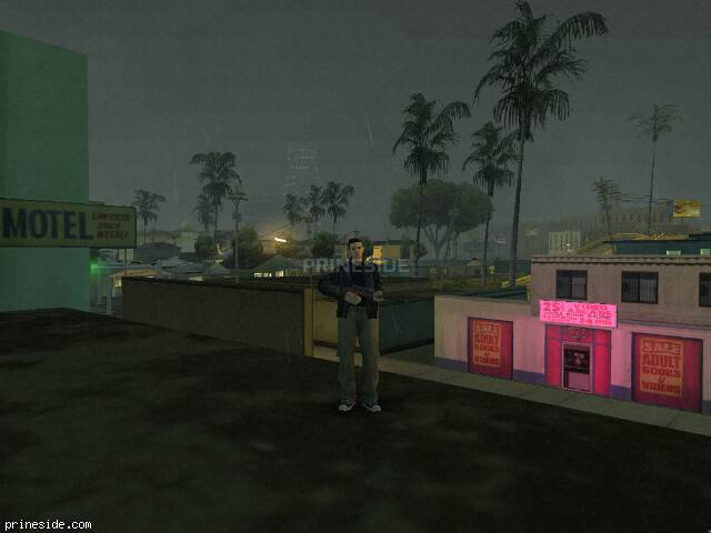 GTA San Andreas weather ID 8 at 22 hours