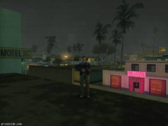 GTA San Andreas weather ID 8 at 23 hours