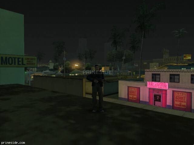 GTA San Andreas weather ID 8 at 6 hours
