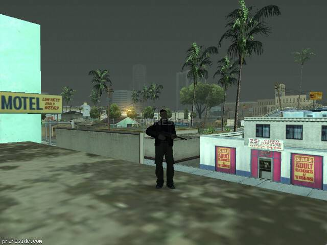 GTA San Andreas weather ID 8 at 7 hours
