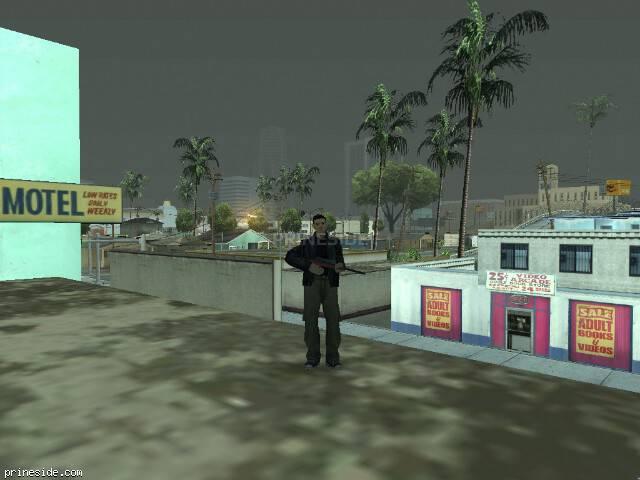 Просмотр погоды GTA San Andreas с ID 520 в 8 часов