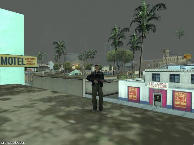 Просмотр погоды GTA San Andreas с ID 8 в 9 часов