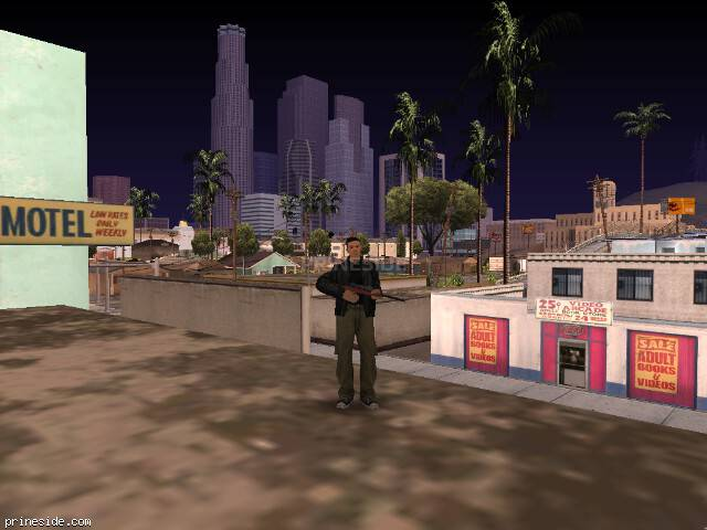 Просмотр погоды GTA San Andreas с ID 80 в 12 часов