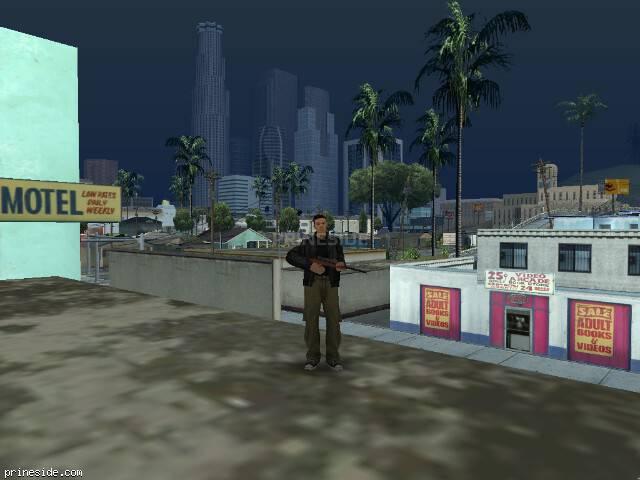 Просмотр погоды GTA San Andreas с ID 81 в 12 часов
