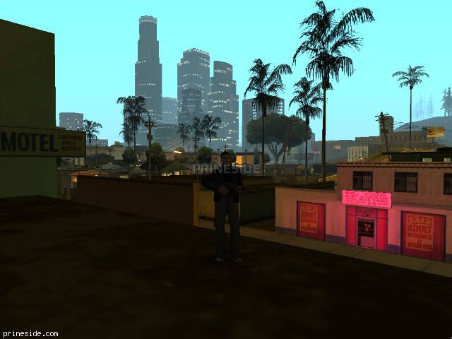 GTA San Andreas weather ID 595 at 3 hours