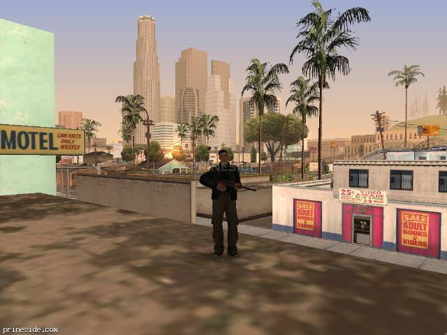 GTA San Andreas weather ID 595 at 8 hours