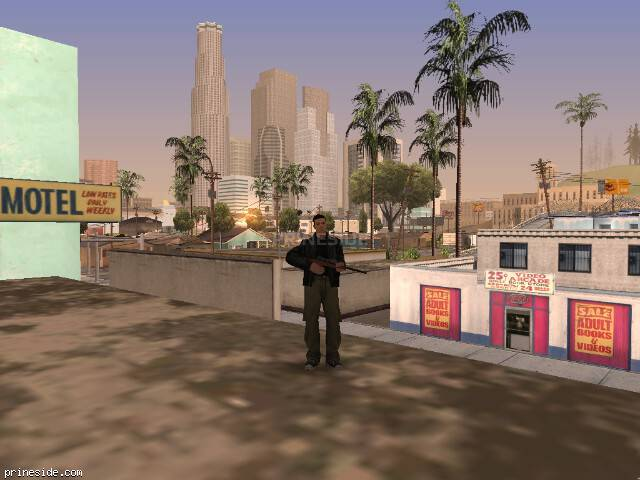 GTA San Andreas weather ID 595 at 9 hours