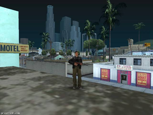 GTA San Andreas weather ID -172 at 11 hours