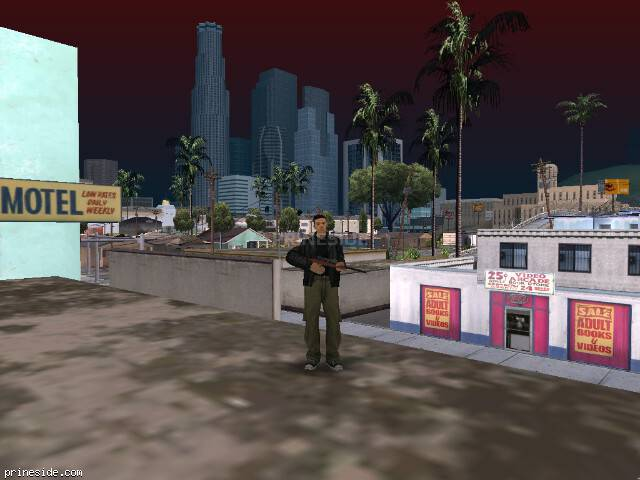 GTA San Andreas weather ID 84 at 13 hours