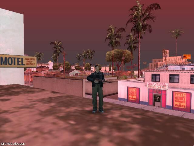 Просмотр погоды GTA San Andreas с ID 85 в 14 часов