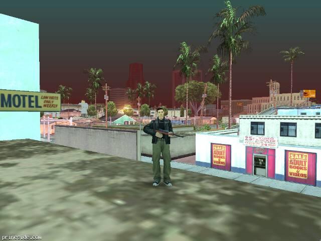 Просмотр погоды GTA San Andreas с ID 85 в 9 часов