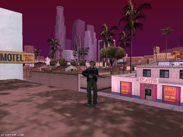 GTA San Andreas weather ID 342 at 14 hours