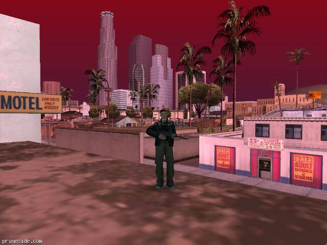 GTA San Andreas weather ID 598 at 15 hours
