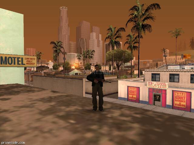 GTA San Andreas weather ID 342 at 8 hours
