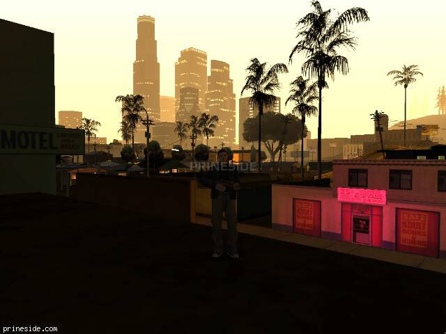 GTA San Andreas weather ID -425 at 0 hours