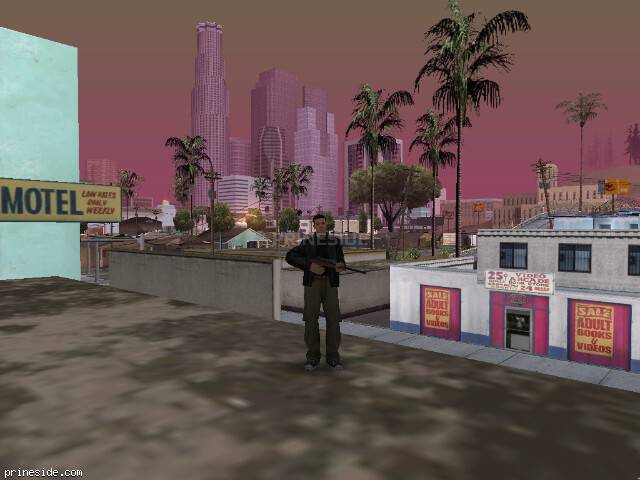 GTA San Andreas weather ID -425 at 10 hours