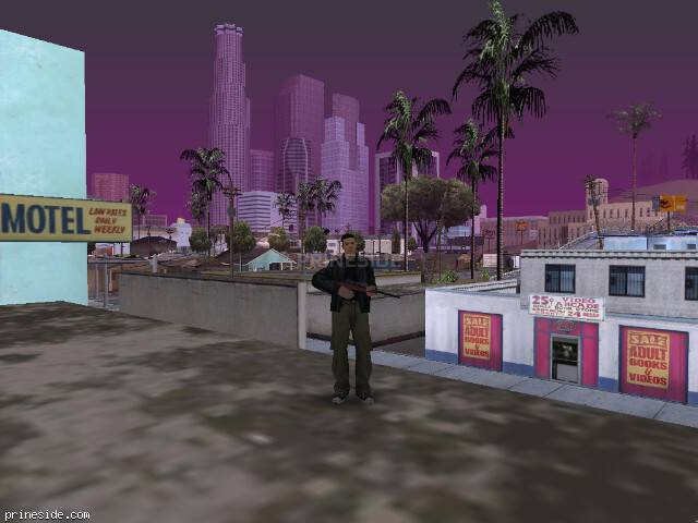 GTA San Andreas weather ID -425 at 11 hours