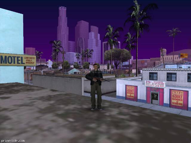 GTA San Andreas weather ID 1111 at 12 hours