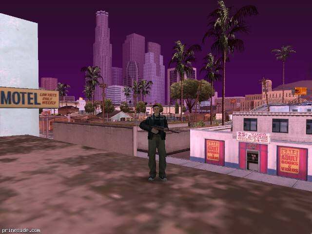 GTA San Andreas weather ID -425 at 13 hours