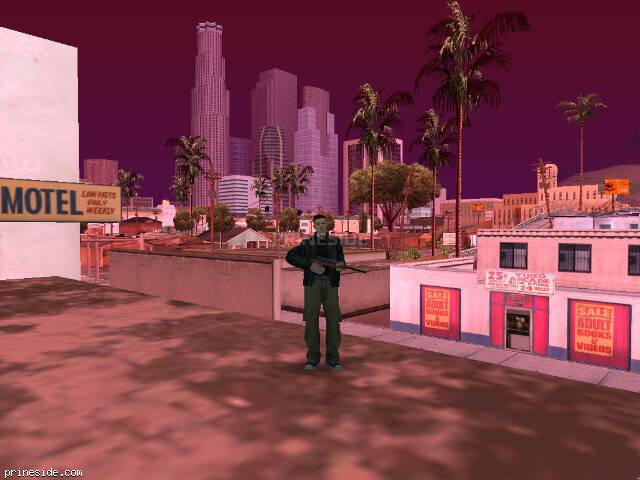 GTA San Andreas weather ID 599 at 14 hours