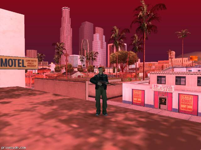 GTA San Andreas weather ID -169 at 15 hours