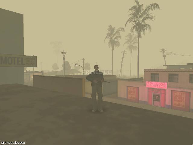 GTA San Andreas weather ID 600 at 0 hours