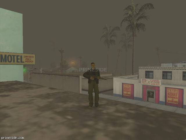 GTA San Andreas weather ID -168 at 11 hours