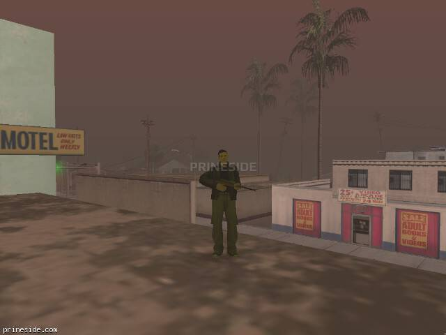 GTA San Andreas weather ID -424 at 13 hours
