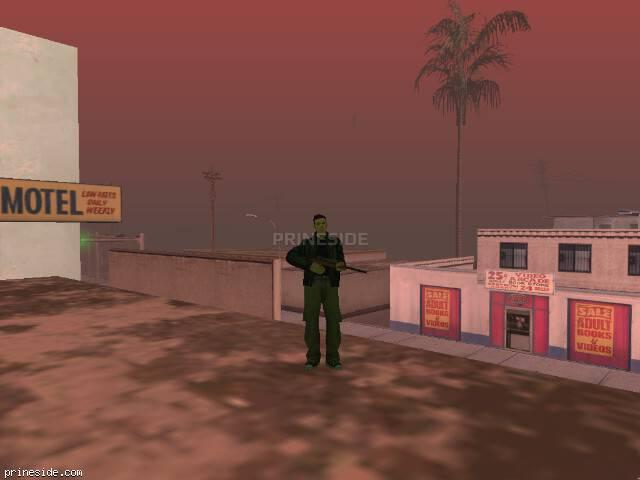 Просмотр погоды GTA San Andreas с ID 88 в 15 часов