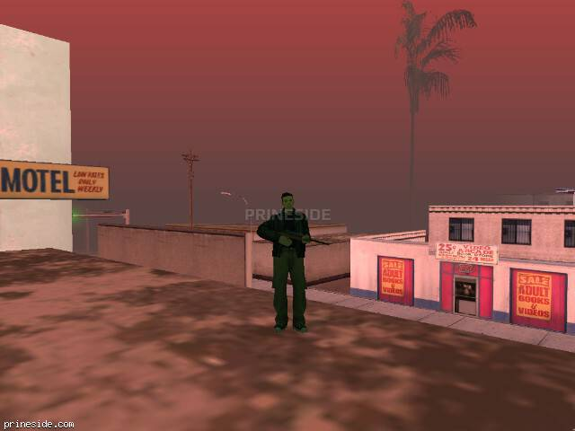 GTA San Andreas weather ID -424 at 16 hours